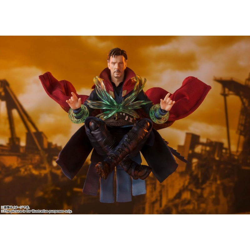 Avengers Infinity War S.H. Figuarts Doctor Strange (Battle on Titan Edition) Figura 15 cm Új, Bontatlan RND
