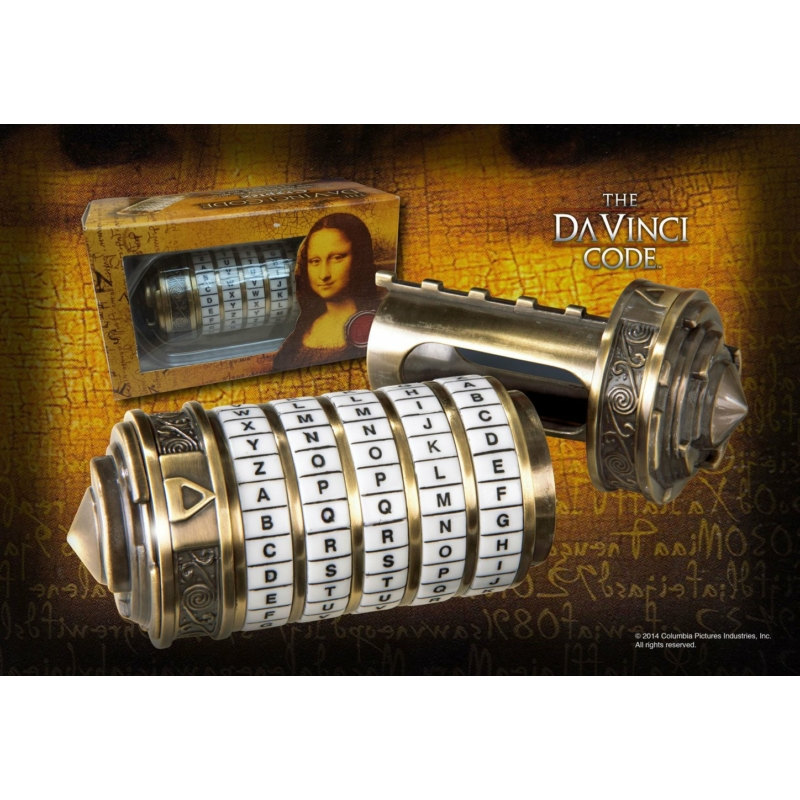 Da Vinci Code - Mini Cryptex Új, Bontatlan RND