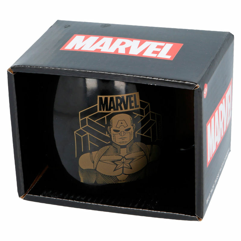 Marvel Amerika Kapitány Captain America Bögre 385ml Új, Bontatlan