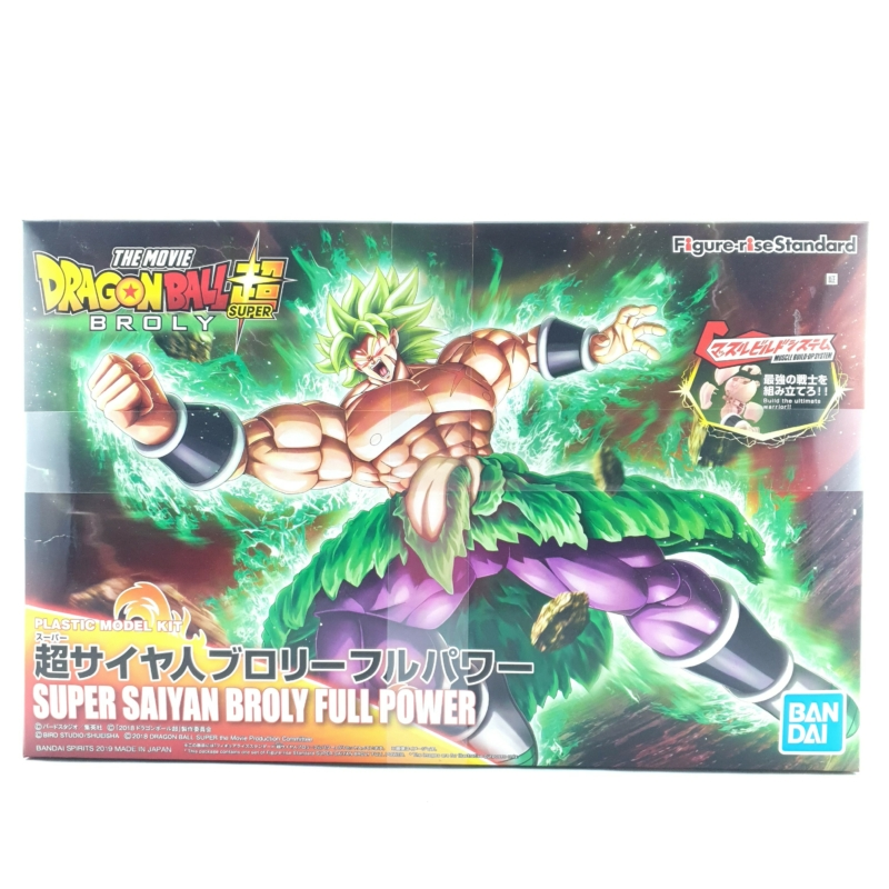 BANDAI Figure-rise Standard Dragon Ball Super Broly Figura Új, Bontatlan
