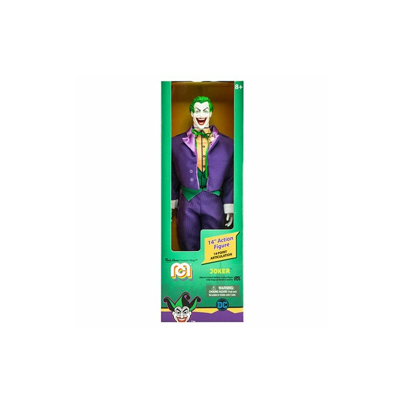 MEGO DC Comics Joker New 52 Figura Retro Szövetruhás Kialakítás 36cm Új, Bontatlan