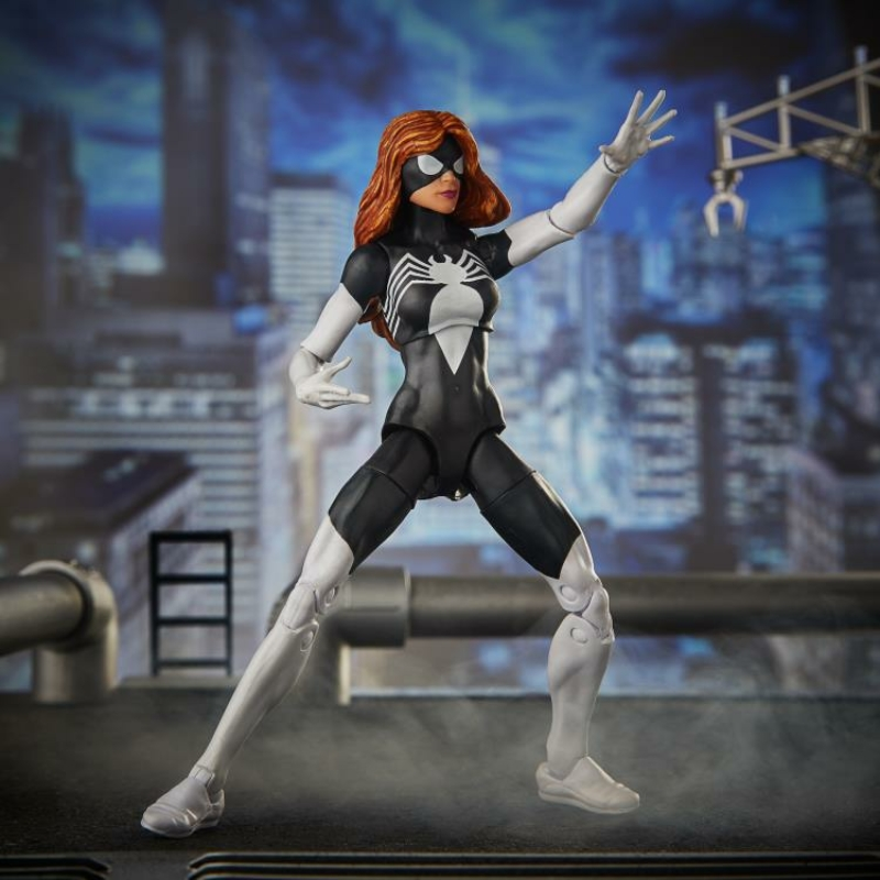 Marvel Legends Spider-Woman Pókember Figura Új, Bontatlan